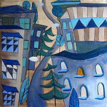 Urban Landscape 5 by Aliza Souleyeva-Alexander