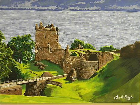 Urquhart Castle by Eric Barich