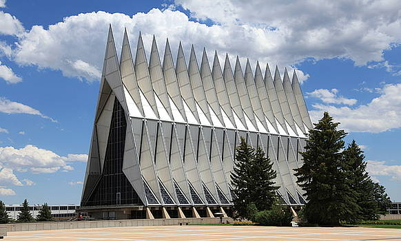 US Airforce Academy Chapel by Sam Amato