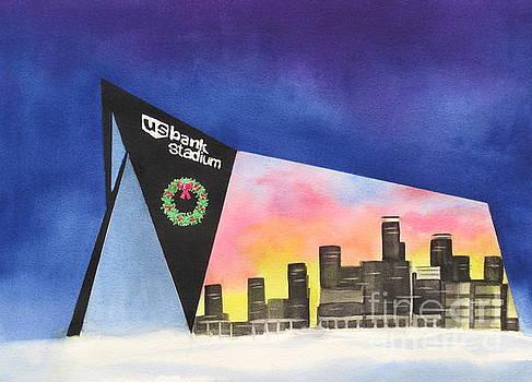 US Bank Stadium by Deborah Ronglien