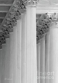 United States Capital Columns by E B Schmidt
