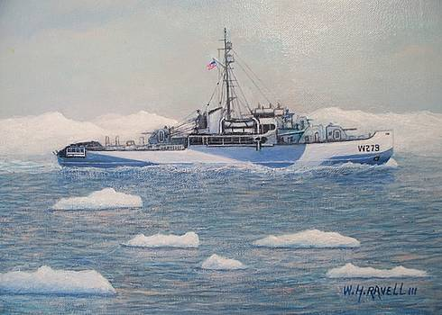 U.S. Coast Guard Cutter Eastwind by William H RaVell III