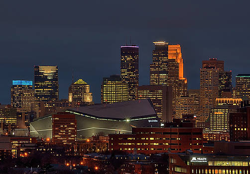 USBank Stadium Game Night by Wayne Moran