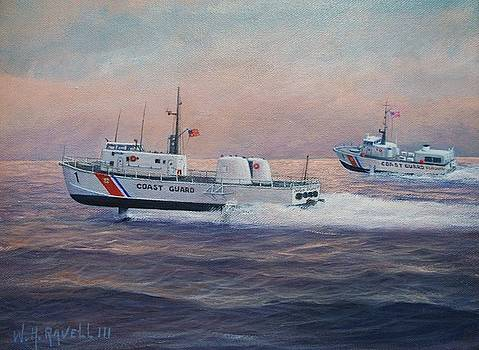 U.S.Coast Guard Hydrofoils High Point and Flagstaff by William H RaVell III