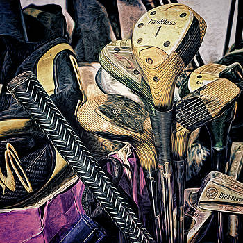 Used Golf Clubs by Lewis Mann