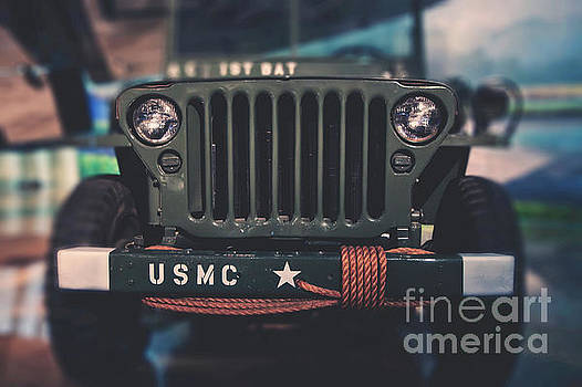 USMC Jeep by Emily Kay