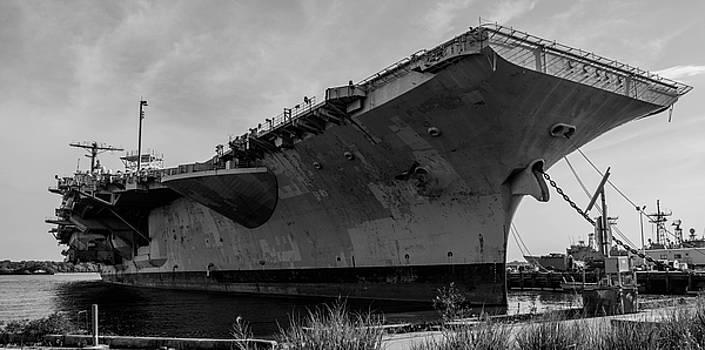 U.s.s. John F. Kennedy Cv-67 by Wayne Higgs