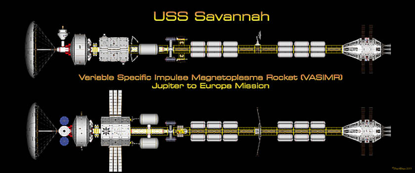 USS Savannah Profile by David Robinson