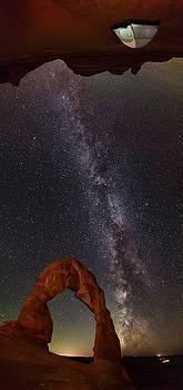 Utah Cave Camping by Mike Berenson