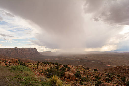 Utah Rainstorm by Ross Jamison