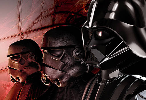Vader's Troops by Kurt Miller
