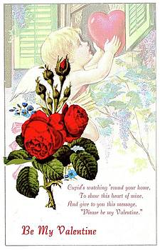 Valentine and Roses by Janette Boyd