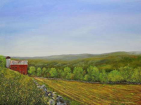 Valley Farm by Ken Ahlering