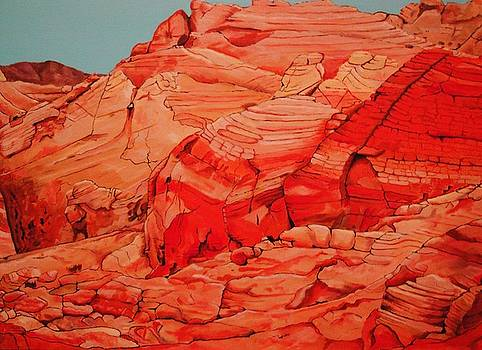 Valley of Fire by Stephen Ponting