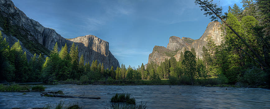 Valley View Yosemite N P by Steve Gadomski
