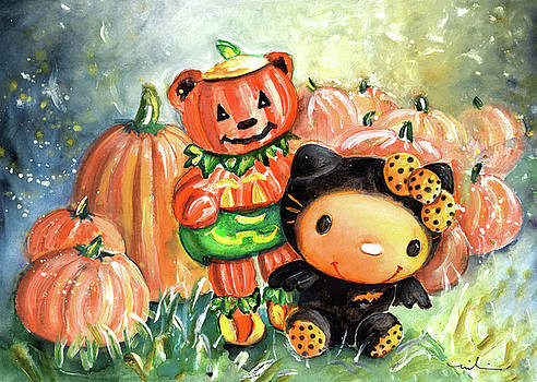 Miki De Goodaboom - Vampiretta And Teddy Pumpkin