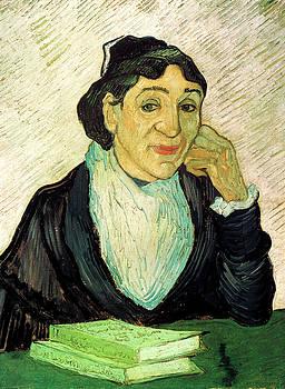 Van Gogh Madame Ginoux LArlesienne by Vincent Van Gogh