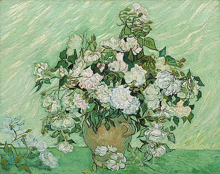 Vincent Van Gogh - Roses  by Bishopston Fine Art