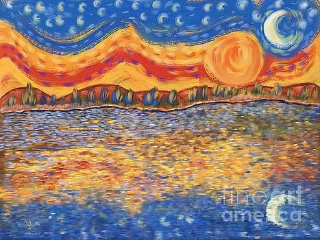 Van Gogh Skies by Sydne Archambault