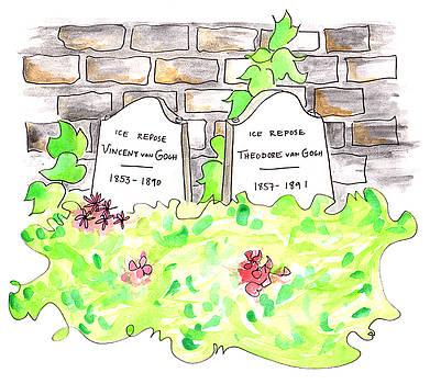 Anna Elkins - Van Gogh Tombstones