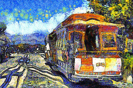 Wingsdomain Art and Photography - Van Gogh Vacations In San Francisco 7D14099