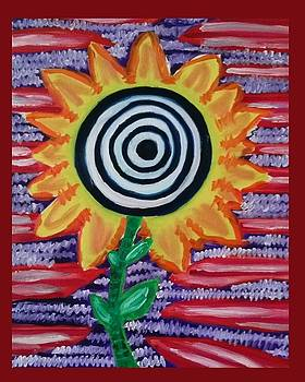 Van Gogh's Sunflower by Christopher Hawke