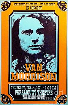 Van Morrison Paramount Theatre Poster by Pd