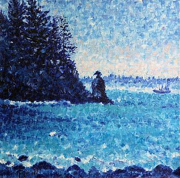 Vancouver In Blue by Nina Nabokova