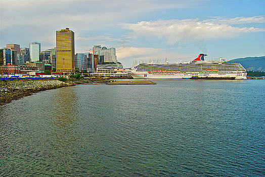 Michael Peychich - Vancouver Port  with Carnaval Spirit 2