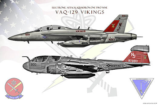 VAQ-129 Combined by Clay Greunke