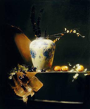 Variations In Orange by David A Leffel