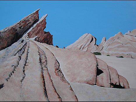 Vasquez Rocks 4 by Stephen Ponting