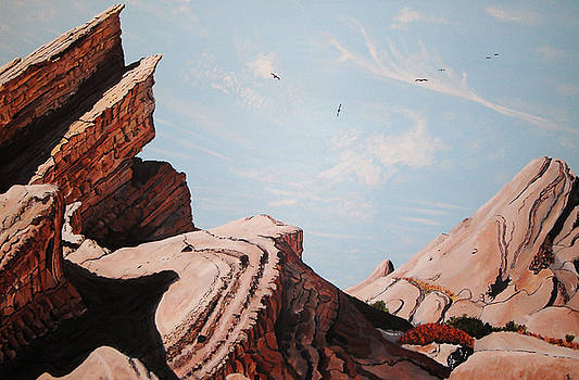 Vasquez Rocks 6 by Stephen Ponting