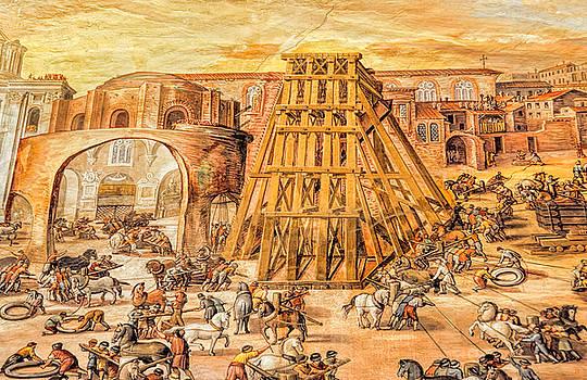 Vatican Obelisk by Nigel Fletcher-Jones