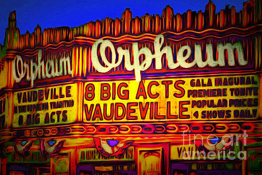 Wingsdomain Art and Photography - Vaudeville Night At The Orpheum Theater 20151222