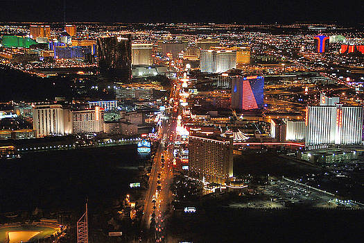 Vegas Lights by Gerard Fritz