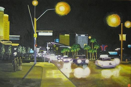 Vegas Night by Karen Snider