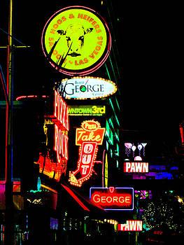 Vegas Night by Robert Lowe