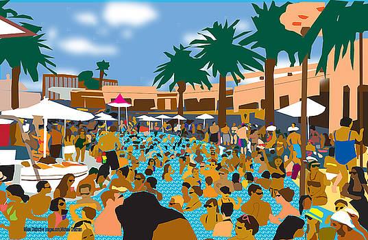 Vegas Pool Party by Michael Chatman