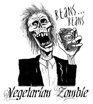 Vegetarian Zombie by Sabrina Zbasnik
