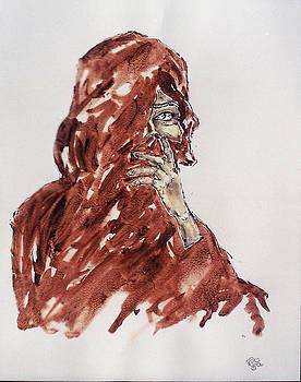 Veil on One Eye 01 by Mohd Raza-ul Karim