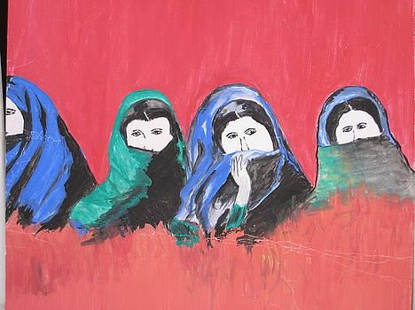 Veiled Women by Saman Khan