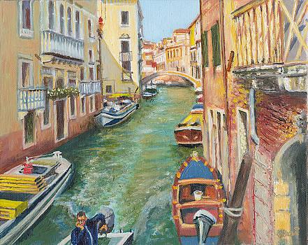Venetian Commuter by Dai Wynn