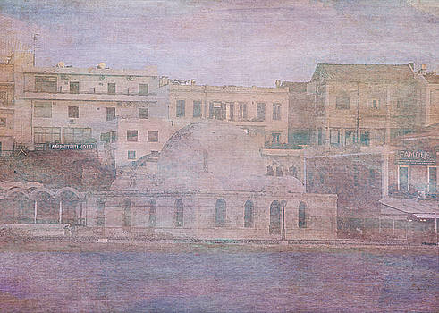 Venetian Harbour, Chania by Sarah Vernon