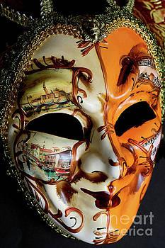 Venetian Mask 3 by Steve Purnell