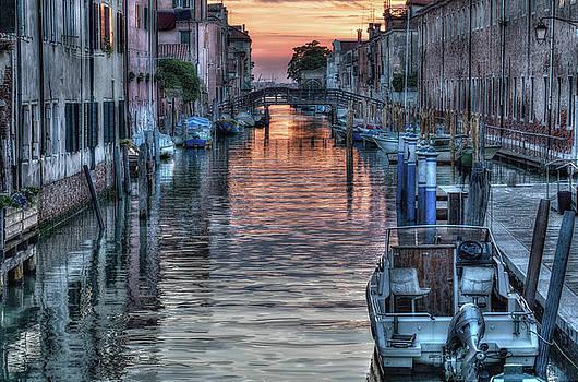 Venetian Sunset by John Hoey