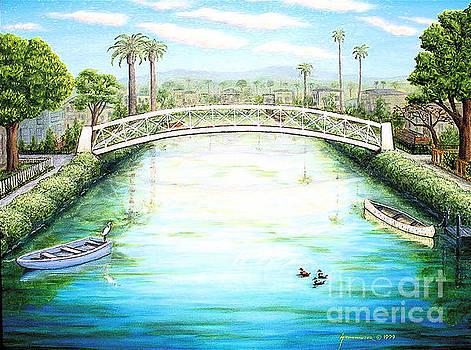 Venice Canals California by Jerome Stumphauzer