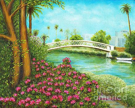 Venice Canals Springtime by Jerome Stumphauzer
