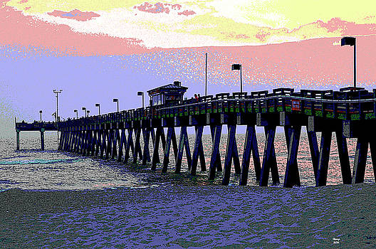 Venice Fishing Pier by Charles Shoup