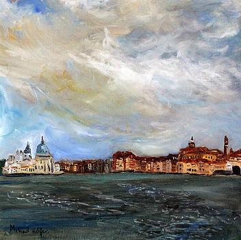 Venice Lagoon View by Michael Helfen